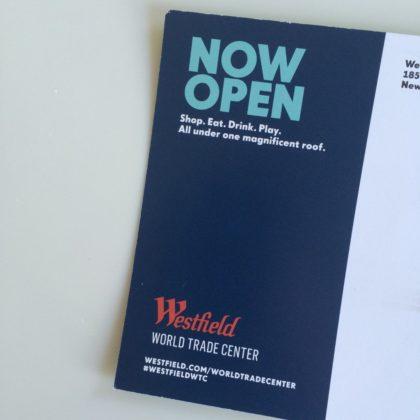 Westfield mailer