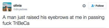 tweet raised eyebrows