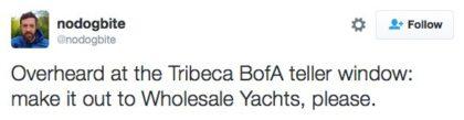 tweet wholesale yachts
