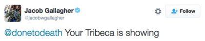 tweet your tribeca is showing