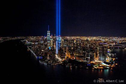 Tribute in Light by Albert C. Lee
