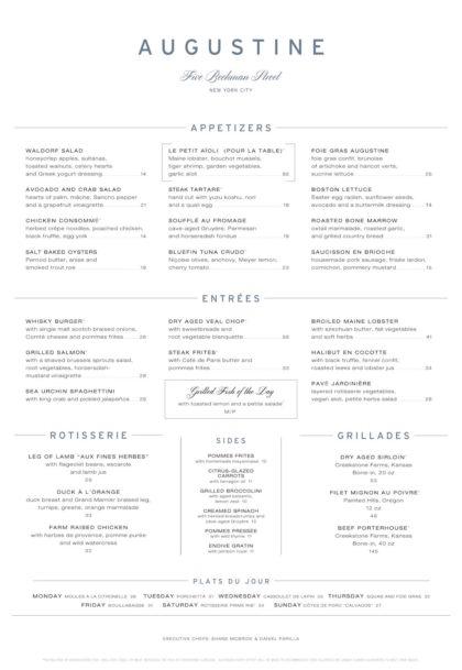 augustine-dinner-menu