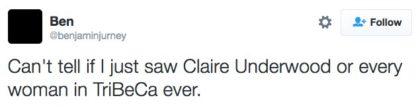 tweet-claire-underwood