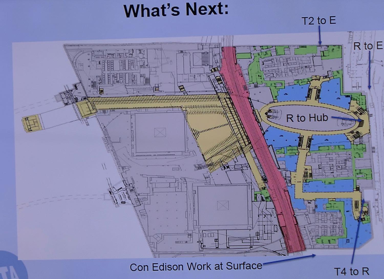 Subway Map Presentation.Seen Heard New Subway Connection At The World Trade Center New