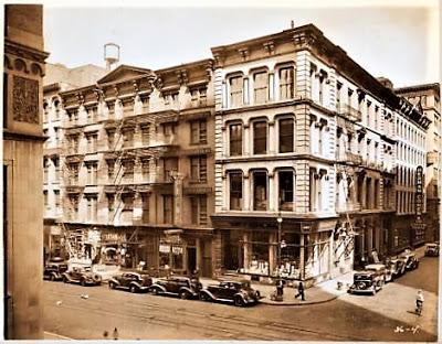 400 Broadway circa 1939 courtesy the New York Public Library