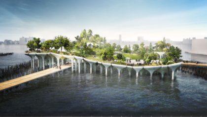 Diller Island rendering
