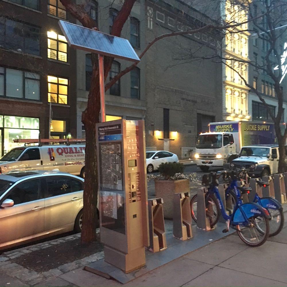 Tribeca Citizen Nosy Neighbor What S This Citi Bike Pole