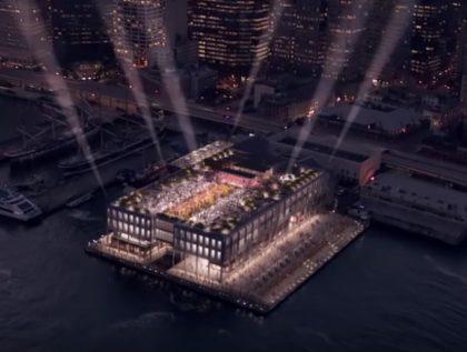 Pier 17 concert rendering