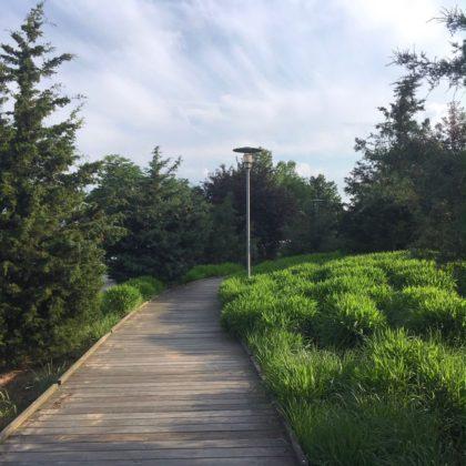 Hudson River Park boardwalk
