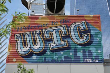 WTC mural