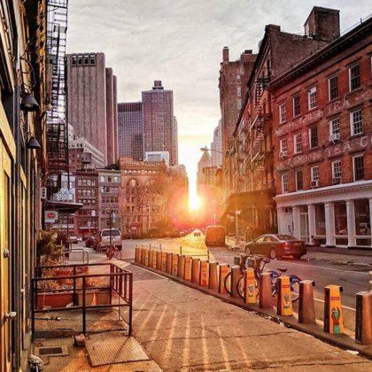 Duane Street sunrise by adotfalk