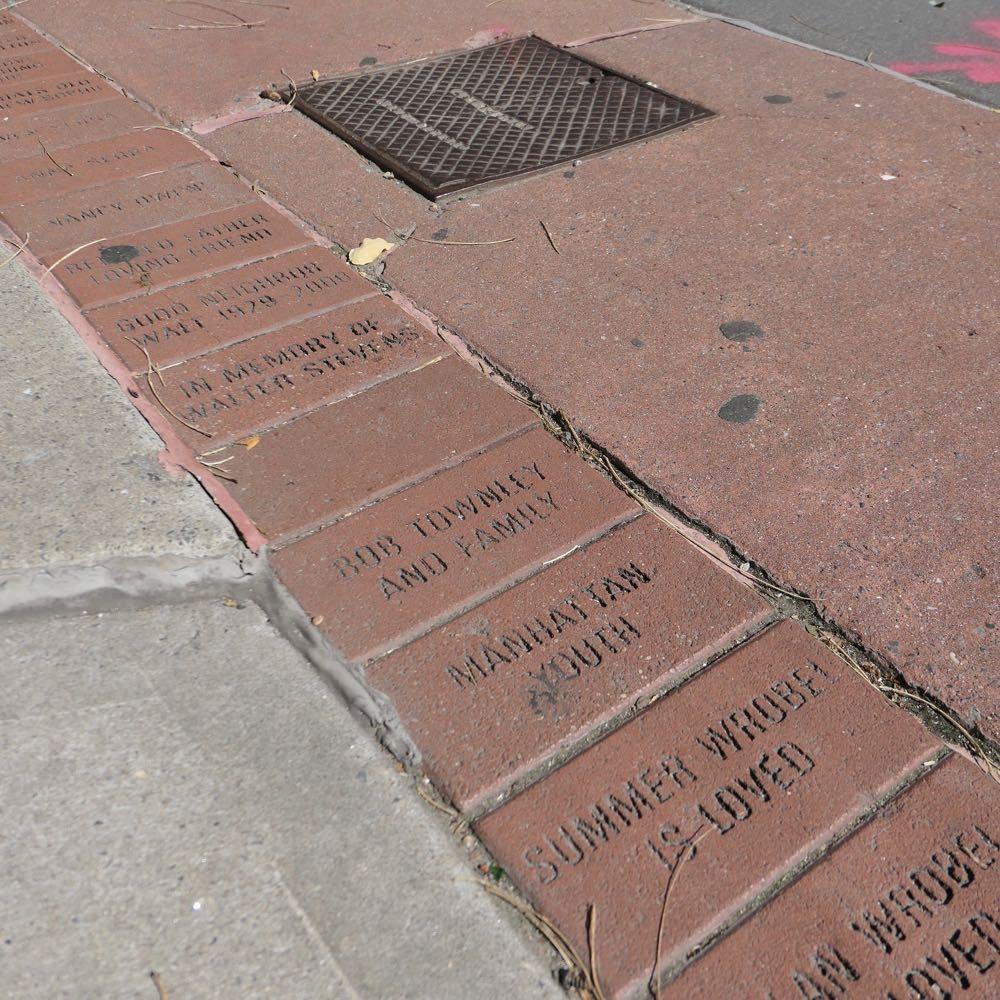Tribeca Citizen Nosy Neighbor How Can I Get A Personalized Brick