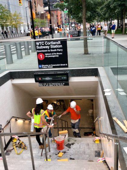 World Trade Center subway station