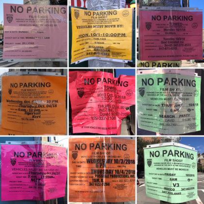 Film-shoot permits