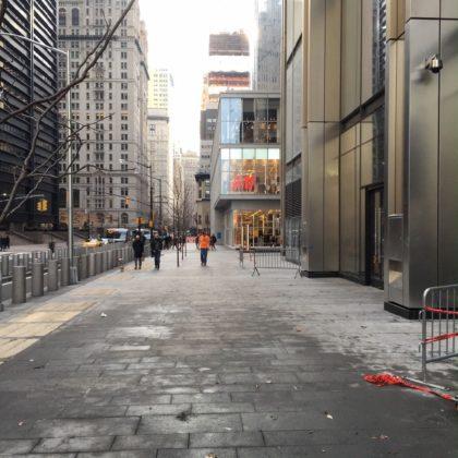 3WTC sidewalk