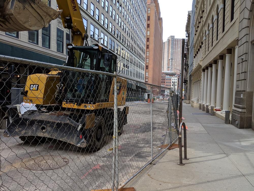 Tribeca Citizen | Construction update part two: Worth Street